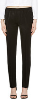 Calvin Klein Collection Black Satin Ufordyce Irise Enver Pants
