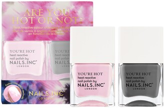 Nails Inc Color Changing Nail Polish Duo- Are You Hot Or Not