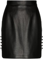 Thumbnail for your product : MATÉRIEL High-Waisted Faux Leather Mini Skirt