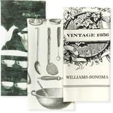 Vintage Tea Towels, Set of 3