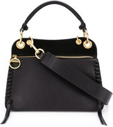 See by Chloe whipstitch panelled tote bag