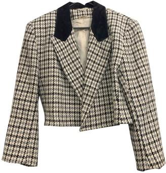 Non Signã© / Unsigned Oversize Multicolour Cashmere Jackets