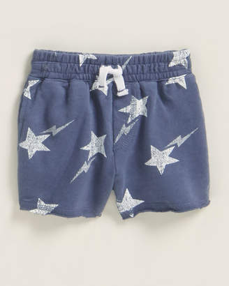 Splendid Newborn/Infant Boys) Star Print Drawstring Shorts