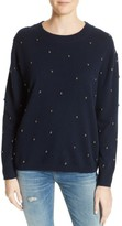 The Kooples Women's Embellished Wool & Cashmere Sweater