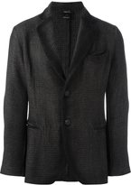 Avant Toi houndstooth single breasted blazer