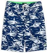 Ralph Lauren Boys' Shark Print Board Shorts - Sizes S-XL