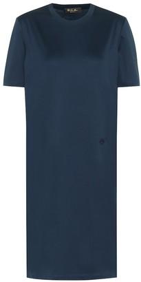 Loro Piana Cotton T-shirt minidress