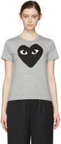 Comme des Garcons Grey Big Heart T-Shirt