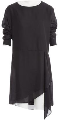 Acne Studios Black Polyester Dresses
