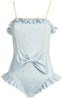 LoveShackFancy Edna Floral Swimsuit