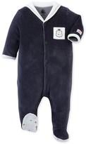 Petit Bateau Baby boys pajamas with sailor collar