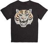 Stella McCartney Tiger-Graphic T-Shirt-BLACK
