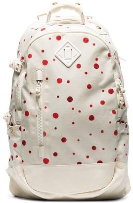 Visvim Polka Dot Print Nylon Backpack