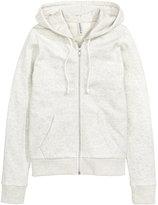 H&M Hooded Jacket - Gray - Ladies