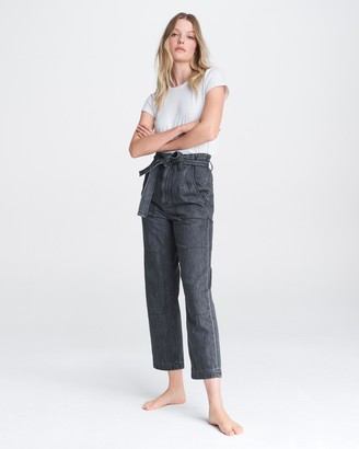Rag & Bone Super high-rise cotton pant