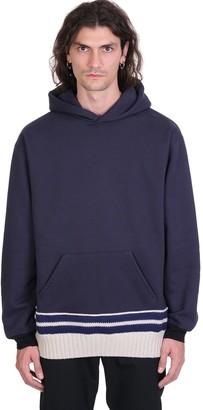 Maison Margiela Sweatshirt In Blue Cotton