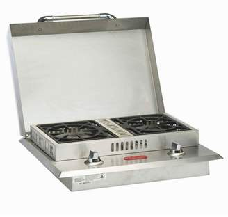 Bull Outdoor Products Stainless Steel Grill Double Side Burner, Liquid Propane