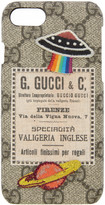Gucci Beige GG Supreme Patches iPhone 6 Case