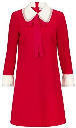 RED Valentino cady tech minidress