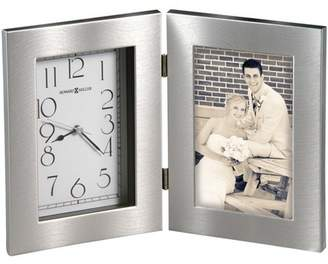 Howard Miller Lewiston Tabletop Clock 645-677 - Picture Frame with Quartz Movement