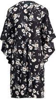 Ralph Lauren Floral Crepe Shift Dress