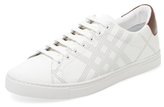 Burberry Perforated Low Top Sneaker