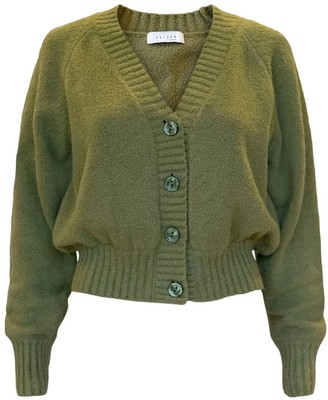 Helder Antwerp Cardigan Organic Cotton Green