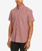 Kenneth Cole Reaction Men's Basford Check Short-Sleeve Shirt