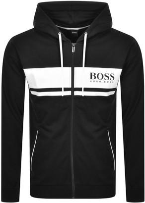 Boss Business BOSS Bodywear Authentic Lounge Logo Hoodie Black