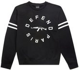 New Defend Paris Men's Strip Crew Ak 47 Logo L/S Sweater (L)