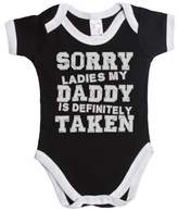 Buzz Shirts Sorry ladies my daddy is definitely taken funny baby boy/girl babygrow vest