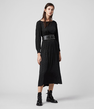 AllSaints Faustin Flora Dress