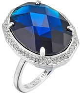 Cole Haan Large Oval Faceted Bezel Ring