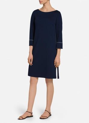 St. John Sleeve Milano Knit Dress