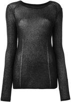 Isabel Marant Arbella top - women - Cotton/Polyamide - 40