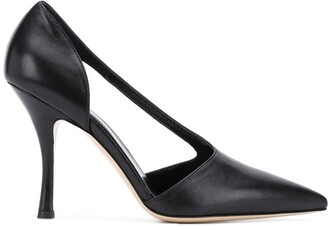 Vejas x Maiorano pointed pumps