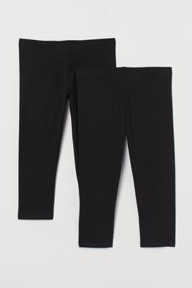 H&M H&M+ 2-pack leggings