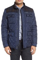 Cole Haan Men's Mixed Media Quilted Jacket