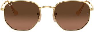 Ray-Ban Hexagonal Flat Lenses Sunglasses