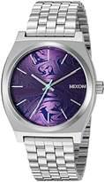 Nixon Men's 'Time Teller, ' Quartz Stainless Steel Watch, Color:Silver-Toned (Model: A045-230-00)