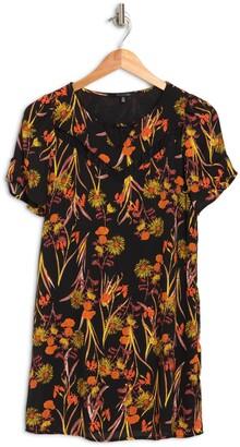 19 Cooper Floral Short Sleeve Mini Dress