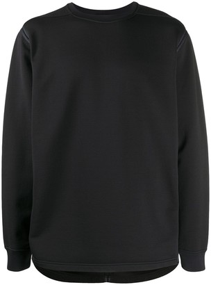Stone Island Shadow Project Fleece-Panel Sweatshirt