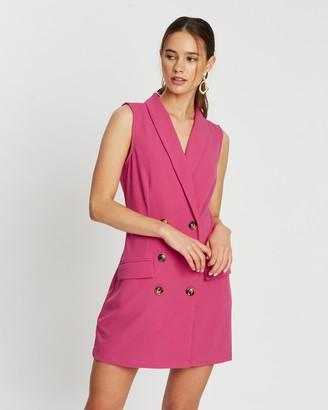 Atmos & Here Holly Tuxedo Dress