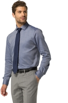 Tommy Hilfiger Th Flex Tailored Collection Cotton Dobby Shirt