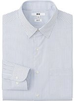 Uniqlo Men Easy Care Slim Fit Striped Long Sleeve Shirt