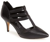 Sole Society Women's 'Mallory' T-Strap Leather Pump