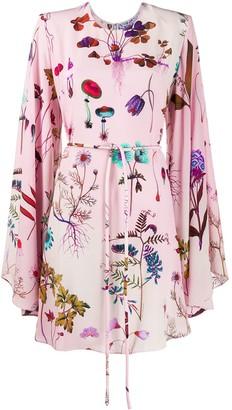 Stella McCartney Delia silk floral dress