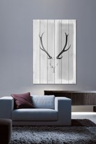Parvez Taj Head Gear White Wood Wall Art