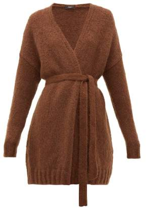 Max Mara Omero Cardigan - Womens - Dark Brown