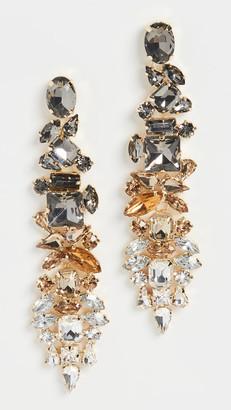 Stella + Ruby Neutral Crystal Earrings